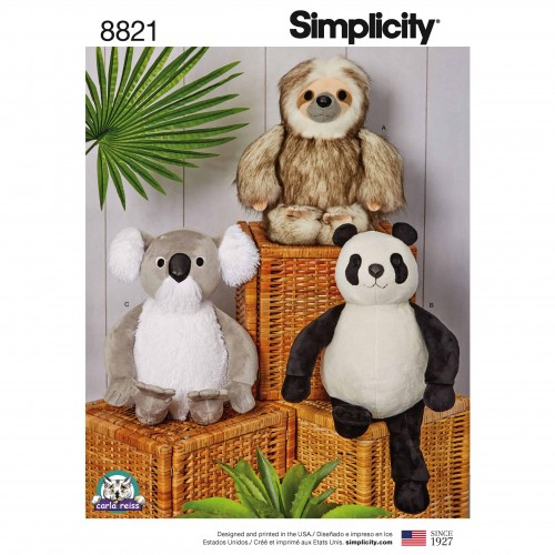 Simplicity Sewing Pattern - 8821-OS
