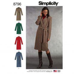 Simplicity Sewing Pattern - 8796-U5