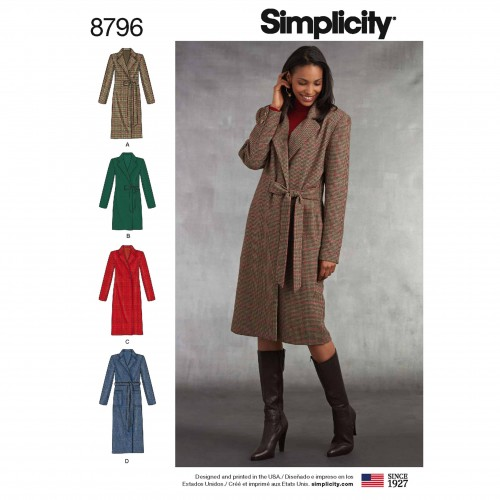 Simplicity Sewing Pattern - 8796-H5