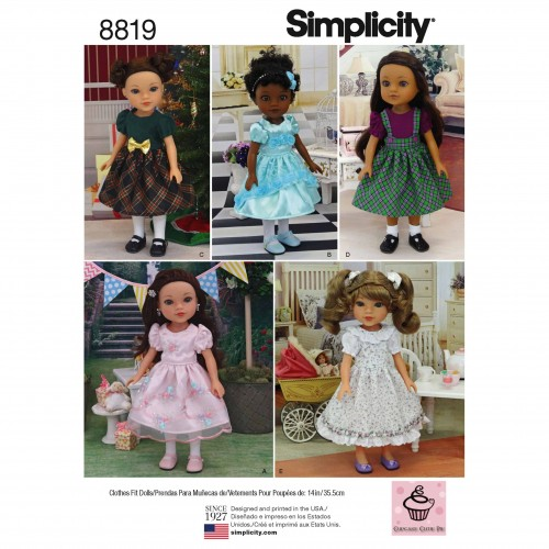 Simplicity Sewing Pattern - 8819-OS