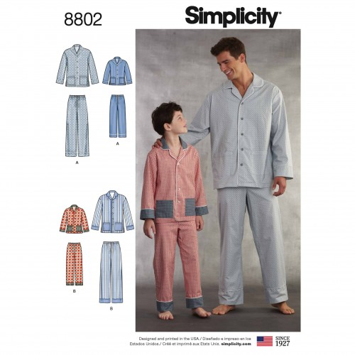Simplicity Sewing Pattern - 8802-A