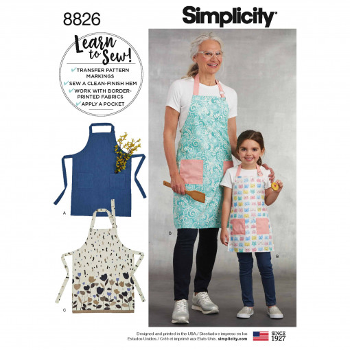 Simplicity Sewing Pattern - 8826-A