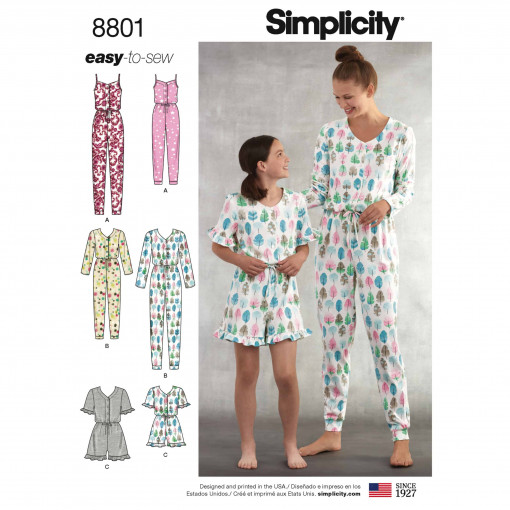 Simplicity Sewing Pattern - 8801-A