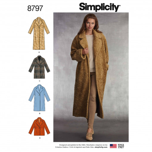 Simplicity Sewing Pattern - 8797-A