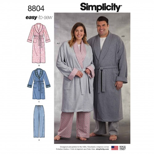 Simplicity Sewing Pattern - 8804-AA