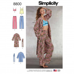 Simplicity Sewing Pattern - 8800-A