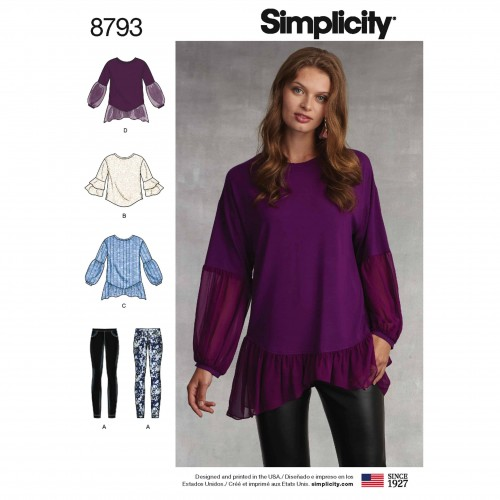 Simplicity Sewing Pattern - 8793-A