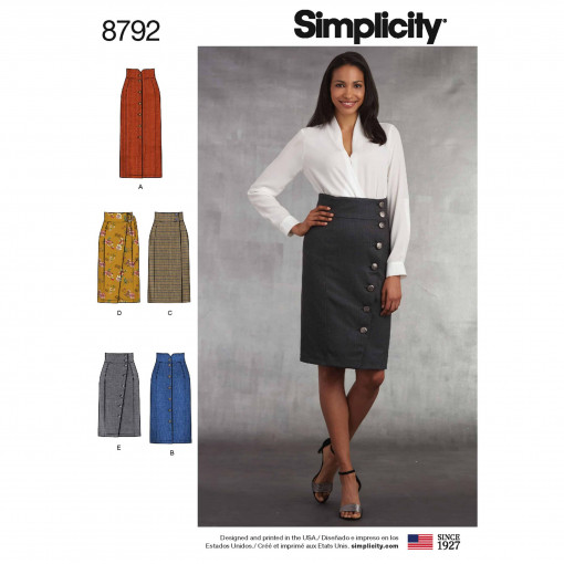 Simplicity Sewing Pattern - 8792-R5