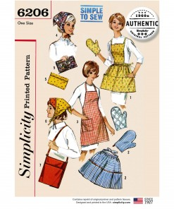Simplicity Sewing Pattern - 6206-OS