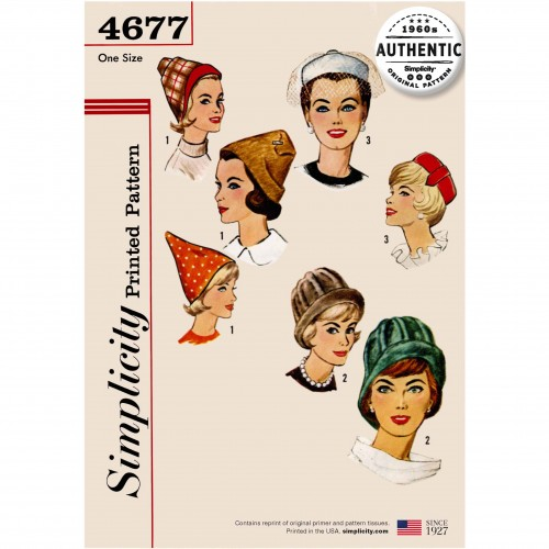 Simplicity Sewing Pattern - 4677-OS