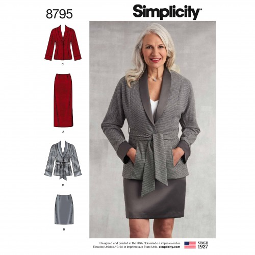 Simplicity Sewing Pattern - 8795-H5