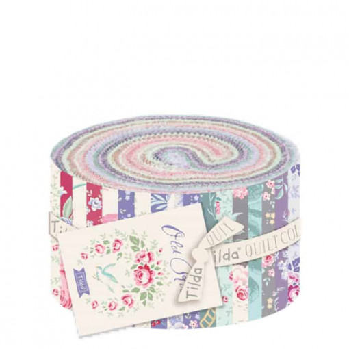 Tilda Old Rose Fabric Roll 300061