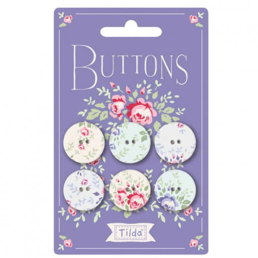 Tilda Old Rose Buttons 400028