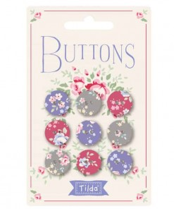 Tilda Old Rose Buttons 400029