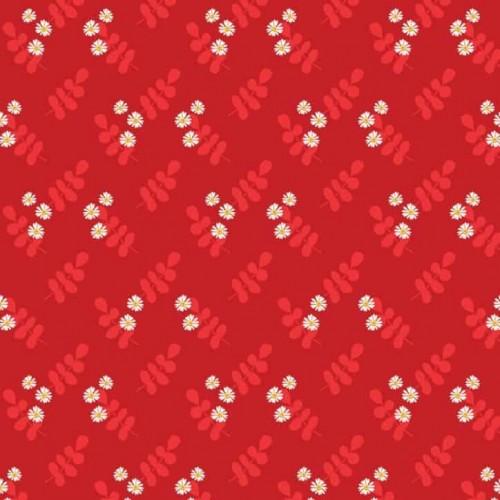 Aussie Flower Garden - Red Floral B