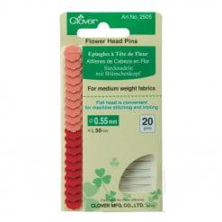 Clover Flower Head Pins 2505_1