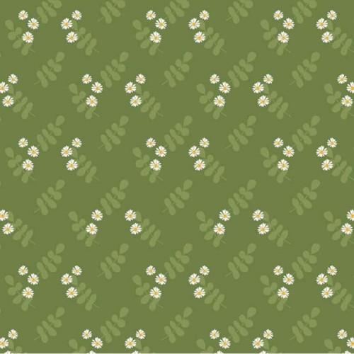 Aussie Flower Garden - Green Floral G