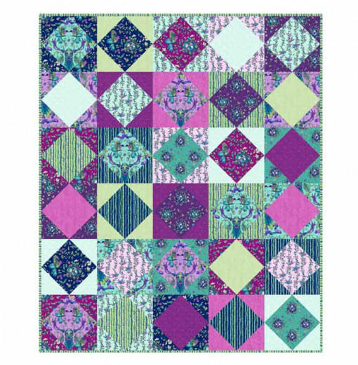 Stag and Thistle Quilting Pattern - PTN2606