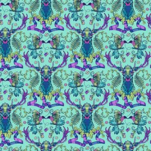 Stag & Thistle Fabric by Brett Lewis for Northcott Fabrics - 23304-64