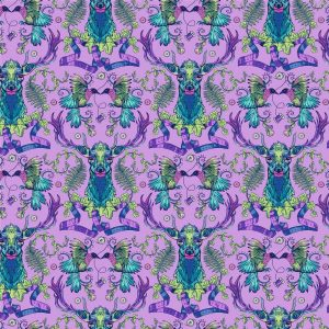 Stag & Thistle Fabric by Brett Lewis for Northcott Fabrics - 23304-84