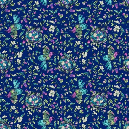 Stag & Thistle Fabric by Brett Lewis for Northcott Fabrics - 23305-48