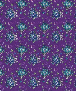 Stag & Thistle Fabric by Brett Lewis for Northcott Fabrics - 23306-88