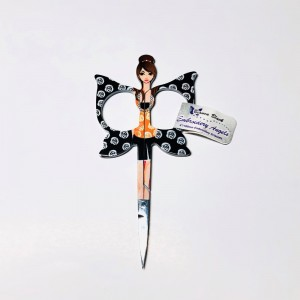 Embroidery Angels Bianca Black